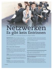 Thema Netzwerken - Interview Kraxner Pfeffer Seite 1